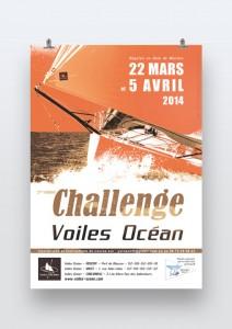 Affiche Trophé Voiles océan 2014