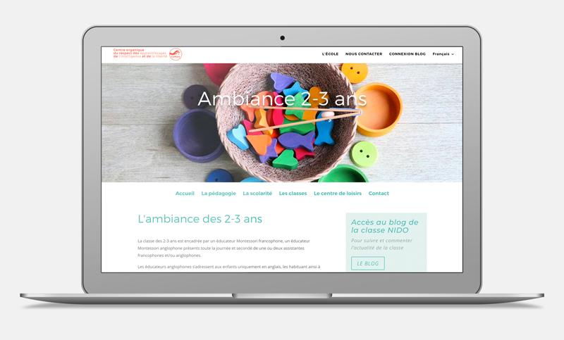 site web Montessori Nice